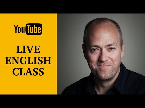 Live English class | Phrasal verbs | Canguro English
