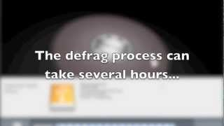 How to Defrag a Mac Hard Drive