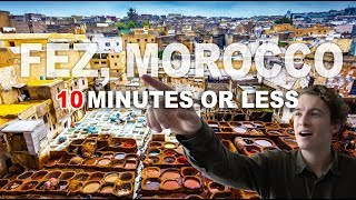 Download Video THE MOST UNDERRATED CITY IN THE WORLD - Fez, Morocco MP3 3GP MP4