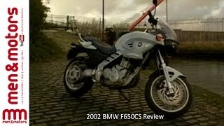 3. 2002 BMW F650CS Review