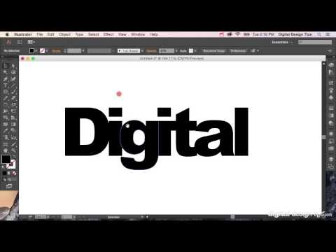 How To Create Outlines In Adobe Illustrator (convert Text To Shapes)