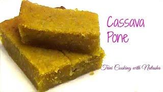 Trinidad Cassava Pone recipe -Episode 1