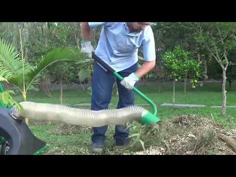 Aspirador  de folhas e Triturador de Folhas a Gasolina ATF – 50