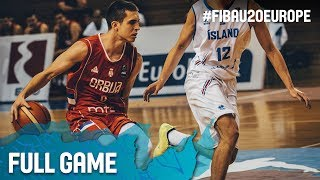 Watch the full game of Iceland v Serbia at the FIBA U20 European Championship 2017. ▻▻ Subscribe: http://fiba.com/subYT...
