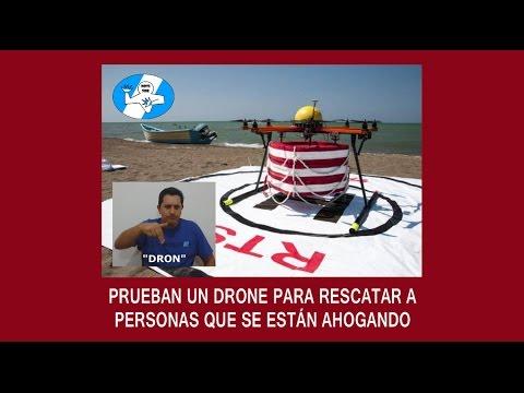"""""""DRONES SALVAN VIDAS"""" (NOTI SOR FLASH – En LSA)"""