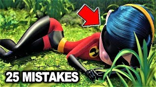 Video 💥 25 BIGGEST MISTAKES in THE INCREDIBLES MP3, 3GP, MP4, WEBM, AVI, FLV Juni 2018