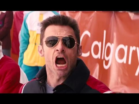 EDDIE THE EAGLE Official International Trailer (2016) Hugh Jackman Sports Comedy Drama Movie HD