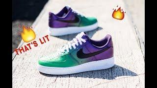 Video How To: Custom Shoes Air force ones   The Joker   Angelus MP3, 3GP, MP4, WEBM, AVI, FLV Maret 2019