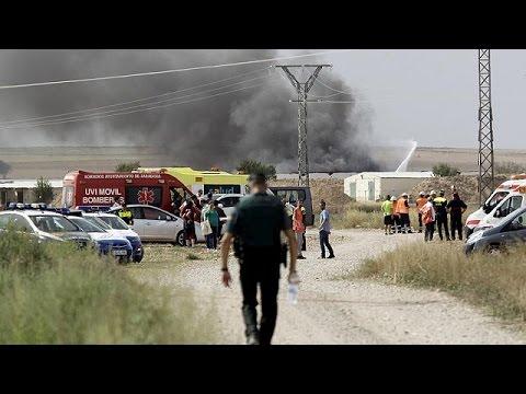 Ισπανία: Νεκροί από έκρηξη σε εργοστάσιο πυροτεχνημάτων