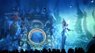 3D 360 degree light and water show, Macau