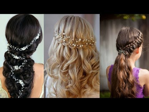 Hairstyles for short hair - Simple Hairstyle For Girl For Everyday   Part 2