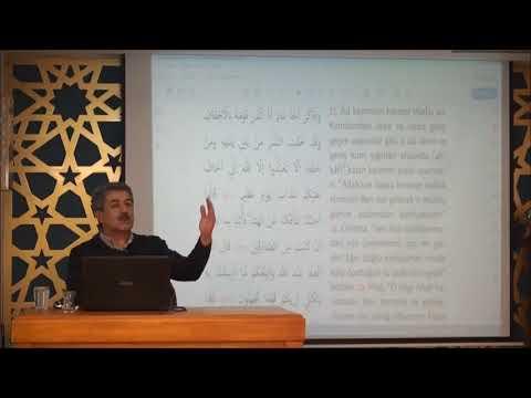 Tuncer Namlı - Ahkâf Suresi (21 - 35) Ayetlerin Tefsiri