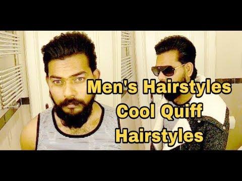 Mens hairstyles - Men's Hairstyle  Cool Quiff Hairstyles  For Long Hair  KamalDeepMUA