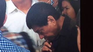 Duterte suffers from migraine before speaking engagement