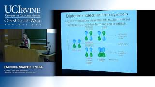 Molecular Structure&Statistical Mechanics 131B. Lecture 15. Electronic Spectroscopy (Pt. IV)