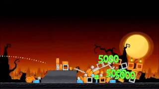 Angry Birds Seasons Walkthrough Trick or Treat 1-11