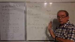 Algebra Intermedia - Lección 33 - B (solución De Ecuaciones Cuadráticas Por Factorización)