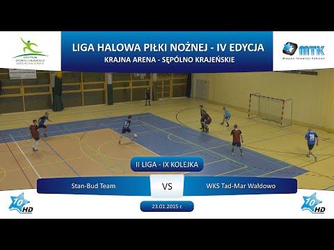 II Liga - IX Kolejka: Stan-Bud Team - WKS Tad-Mar Wałdowo 12:0, 23.01.2015 r.