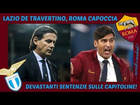 LAZIO E ROMA: DOPO L'EUROPA LEAGUE, DEVASTANTI SENTENZIE DOGALI!