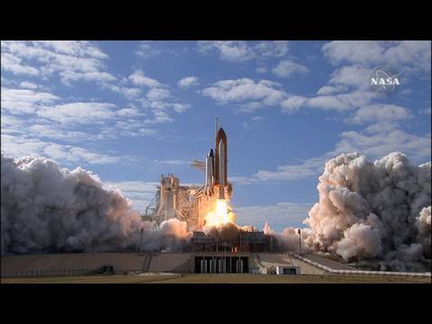 hd - Space shuttle Atlantis and its six-member crew began an 11-day delivery flight to the International Space Station on Monday with a 2:28 p.m. EST launch from ...