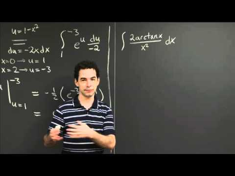 Integration Practice IV | MIT 18.01SC Single Variable Calculus, Fall 2010