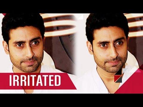 Abhishek Bachchan Irritated With 'COMEBACK' Term