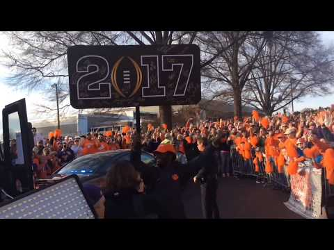 Download National Champions return home to Clemson HD Mp4 3GP Video and MP3