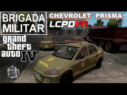 GTA IV - Brigada Militar : Chevrolet Prisma