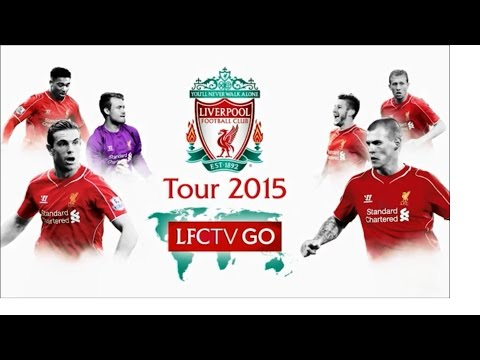 Liverpool FC vs ThaiLand All Stars 4-0 All Goals & Highlights 2015