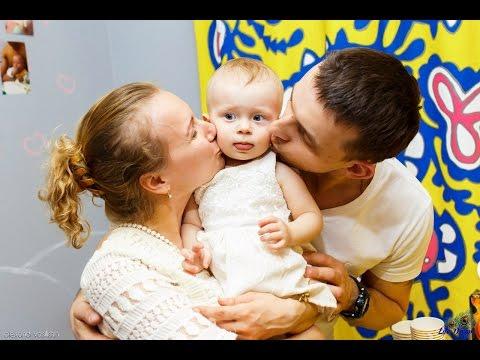 Как отпраздновать первый день рождения ребёнка. День рождения ребенка 1 год. АНГЕЛИНЕ 1 ГОДИК - DomaVideo.Ru