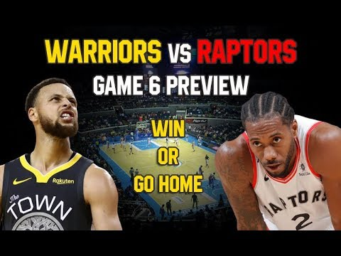 Warriors vs Raptors GAME 6 PREVIEW | Makabalik Pa Ba Ang Warriors