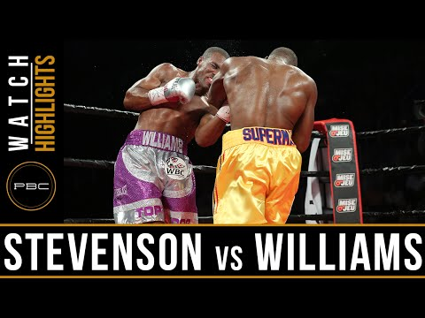 adonis stevenson vs thomas williams - highlights