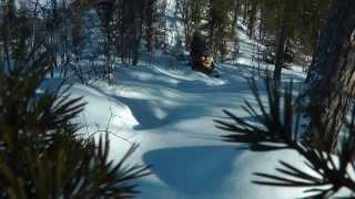 10. Снегоход BRP Ski-Doo Skandic (ча�ть 4) - 550