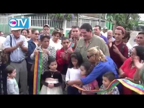 Gobierno Sandinista entrega más calles para el pueblo en Estelí