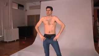 Ben Aaron Becomes A Calvin Klein Underwear Model