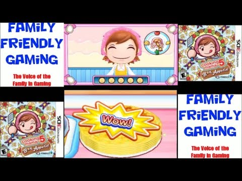 Cooking Mama 5 Bon Appetit! Mille Feuille Crepe