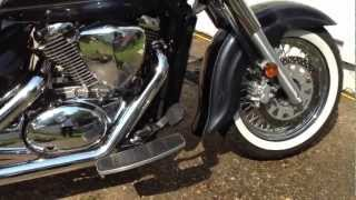 5. Suzuki Boulevard C50T with Road Burner Exhaust
