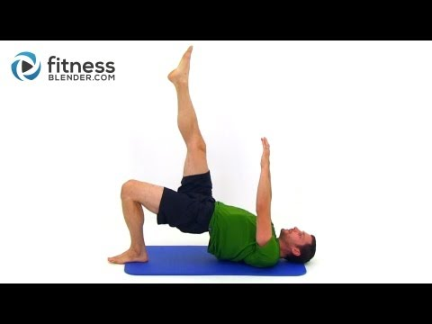 Pilates for Lean Legs & Toned Core – 33 Minute Pilates Workout Video by FitnessBlender.com
