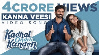 Video Kadhal Ondru Kanden - Kanna Veesi Video Song | Rio Raj | Ashwin Kumar | Nakshathra Nagesh download in MP3, 3GP, MP4, WEBM, AVI, FLV January 2017