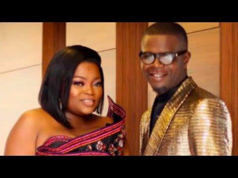Funke Akindele's husband JJC Skillz thanks sister for introducing them