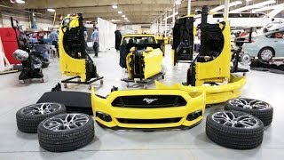 ► 2015 Ford Mustang Build Dry Run Timelapse