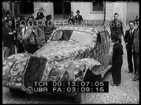 Formal Surrender of German Army in Italy -220685-02   Footage Farm