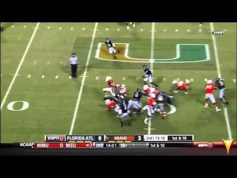 Keith Reaser vs Miami 2013 video.
