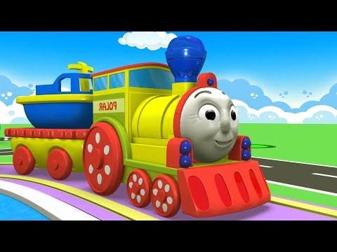 Little Train Cartoon - Toy Factory Cartoon - Cartoon for Kids - Kids Videos for Kids - Cartoon Train