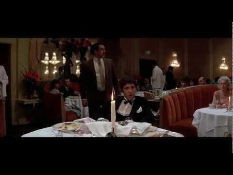 scarface - scena nel ristorante