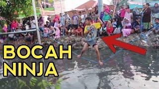 Download Video HEBOH.!!! Ninja Warrior Ndeso Berhadiah Motor (Kemampuan Apa Keberuntungan) MP3 3GP MP4