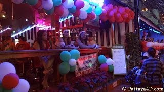 Pattaya Soi 8 Nightlife Girls And Ladyboys On Christmas Dec 25 Happy New Year 2014
