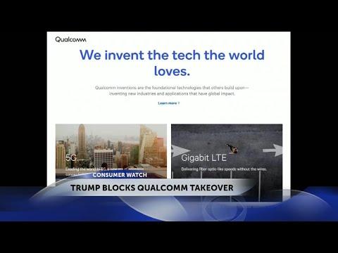 Trump blocks Broadcom takeover of Qualcomm