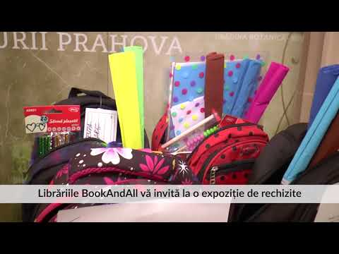 Librăriile BookAndAll vă invită la o expoziție de rechizite