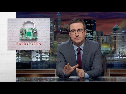 John Oliver Explains The Importance Of Encryption